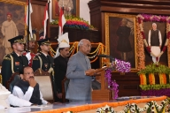 Vajpayee's portrait unveiled in Central Hall of Parliament