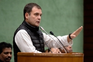 Rahul to launch campaign from village where Indira, Rajiv, Sonia started