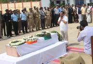 Karnataka's slain CRPF trooper laid to rest with full honours (Second Lead)