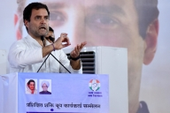 It's a fight between two ideologies, says Rahul